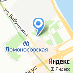 Заначка на карте Санкт-Петербурга