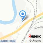 Регион Авто на карте Санкт-Петербурга