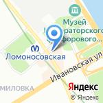 Мари на карте Санкт-Петербурга