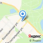 Управление комбината социального питания Пушкинского района на карте Санкт-Петербурга