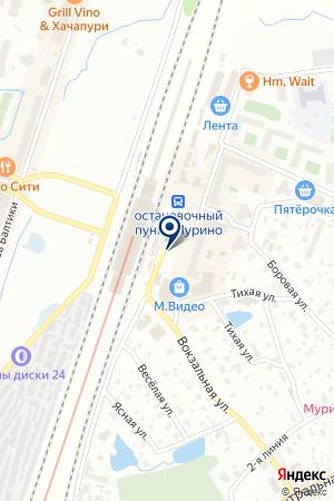 Билайн на карте Мурино