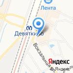 Мастерская по ремонту мобильной техники на карте Санкт-Петербурга