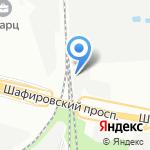 Славич на карте Санкт-Петербурга