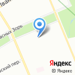Кот у самовара на карте Санкт-Петербурга