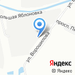 Альянс-Неруд на карте Санкт-Петербурга