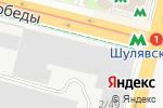 Схема проезда до компании Диана в