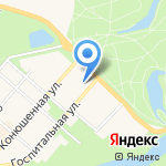 Городская поликлиника №60 на карте Санкт-Петербурга