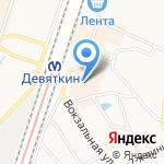 Магазин текстиля для дома на карте Санкт-Петербурга