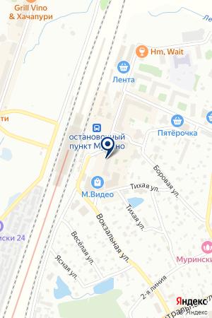 Zapravka911 на карте Мурино