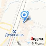Дача-сервис на карте Санкт-Петербурга
