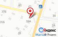 Схема проезда до компании ЕвроСервис в Нижних Осельках