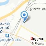 Блинные острова на карте Санкт-Петербурга