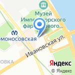 Детский сад №50 на карте Санкт-Петербурга