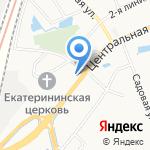 Автотехцентр на карте Санкт-Петербурга