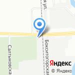 УНЭКС на карте Санкт-Петербурга