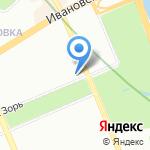 Студия маникюра Алины Кирейковой на карте Санкт-Петербурга