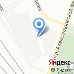 Спэйс-кул на карте Санкт-Петербурга