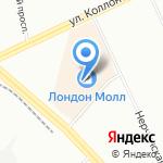 Снежная королева на карте Санкт-Петербурга