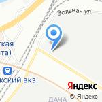 Гекса-Северо-Запад на карте Санкт-Петербурга