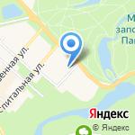 Павловский на карте Санкт-Петербурга