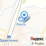 БОНАВА САНКТ-ПЕТЕРБУРГ на карте Санкт-Петербурга