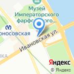 Кант на карте Санкт-Петербурга