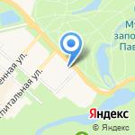 Храм святой равноапостольной Марии Магдалины на карте Санкт-Петербурга