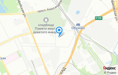 Местоположение на карте пункта техосмотра по адресу г Санкт-Петербург, проезд Гаражный, д 2