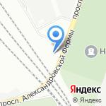 Митекс на карте Санкт-Петербурга