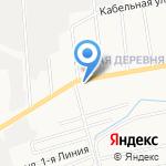 Диско-бар на карте Санкт-Петербурга