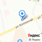 Бадаева на карте Санкт-Петербурга