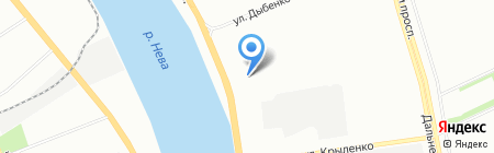 РемЭнергоМаш на карте Санкт-Петербурга
