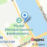 АКБ Легион на карте Санкт-Петербурга