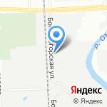 Кафе-столовая на карте Санкт-Петербурга