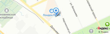 Салинг Груп на карте Санкт-Петербурга