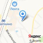 Магазин одежды и обуви на карте Санкт-Петербурга