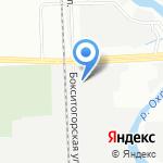 Аккумуляторная Балтийская Компания на карте Санкт-Петербурга