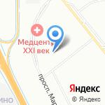 Арифмоша на карте Санкт-Петербурга
