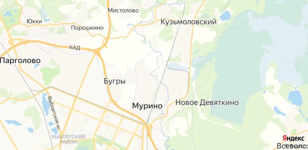Лаврики на карте