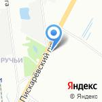 Ремикс на карте Санкт-Петербурга
