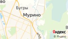 Гостиницы города Мурино на карте