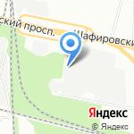 Delta-Park на карте Санкт-Петербурга