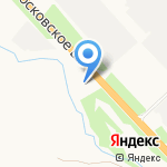Линос на карте Санкт-Петербурга