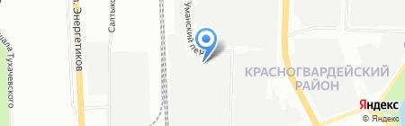 Аттента на карте Санкт-Петербурга