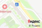 Схема проезда до компании Эко-Мебель в Санкт-Петербурге