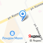 Великоречье на карте Санкт-Петербурга
