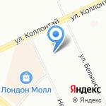 Central barbershop на карте Санкт-Петербурга