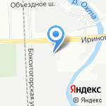 Мойка самообслуживания на карте Санкт-Петербурга