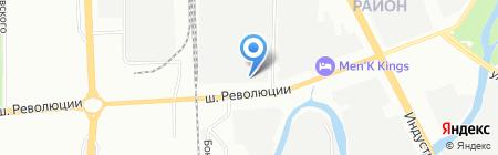 Эрго Лайнс на карте Санкт-Петербурга