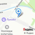 Берёзка на карте Санкт-Петербурга